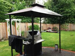 Patio Gazebo Walmart by Simple Patio Outdoor With Walmart Graded Square Grill Gazebo And
