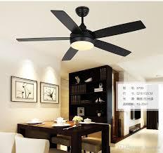leaf ceiling fan with light online cheap five leaf ceiling chandelier fan lights black