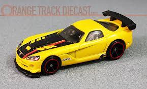 when was the dodge viper made multi pack exclusive 08 dodge viper srt10 acr orange track diecast