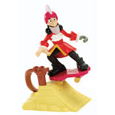 jake neverland pirates skater hook figure
