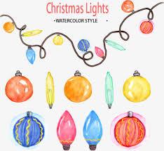 watercolor lights lights lights