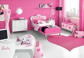 cute and beauty barbie pink bedroom design for teenager girls 7 on