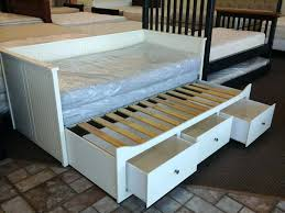 Ikea Brimnes Daybed Twin Daybed With Storage Ikea Raised Bed On Ikea Storage Drawers