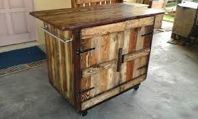 Pallet Kitchen Furniture Wooden Pallet Kitchen Island Table Pallets Diy Wood Pallet