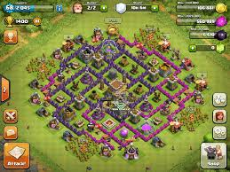 coc layout builder th8 the death trap a th8 base design 2 formations