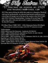 motocross races 2014 sponsor resume help non moto motocross forums message