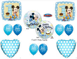 mickey mouse 1st birthday new baby mickey mouse birthday 1st party