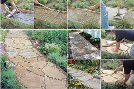 life on maple grove diy flagstone path tutorial home design