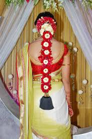 bridal hairstyle for marriage pelli poola jada south indian bridal hair style