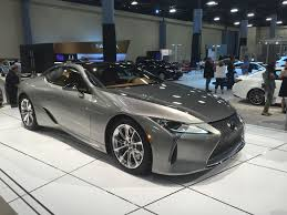lexus lc f sport miami auto show introduction 2018 lexus lc 500h automotive rhythms