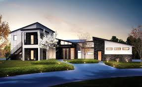 In Law Suite House Plans 4 Bed Modern House Plan With Upstairs In Law Suite 430006ly