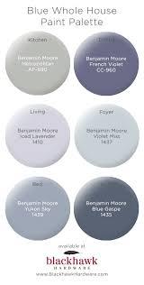 blue benjamin moore whole house paint palettes by benjamin moore blackhawk hardware