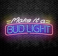 bud light neon signs for sale make it a bud light neon sign for sale neonstation
