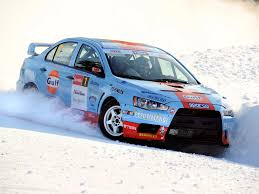 subaru racing wallpaper mitsubishi lancer evolution x race car snow winter cars sport