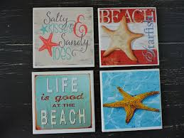 Marine Home Decor Ceramic Coasters House Decor Home Decor Decoupage Drink