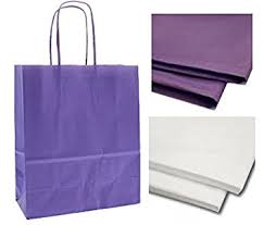 purple gift bags x 10 purple gift bags with matching tissue paper christmas