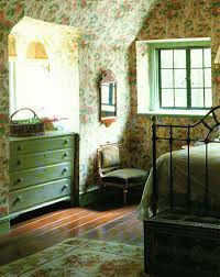 pretty green english cottage bedroom love that the dresser is
