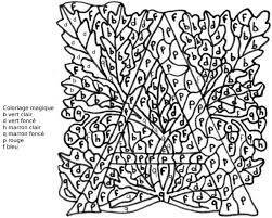 Coloriage Magique La lettre A dessin gratuit à imprimer