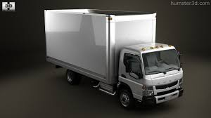 mitsubishi fuso box truck 360 view of mitsubishi fuso box truck 2013 3d model hum3d store