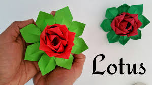 Origami Modular Flower - modular origami tutorial to make