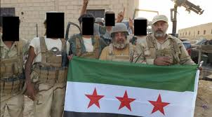 Rebel Syrian Flag Suppose America Gave A Proxy War In Syria And Nobody Came