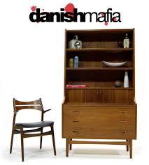 Secretary Desk Modern by Danish Modern Teak Secretary Desk Credenza Bar Eames Danish Mafia