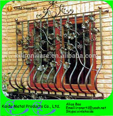 safety simple wrought iron girlls ornamental security window for
