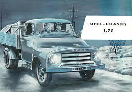 opel cars 1960 1960 opel blitz brochure