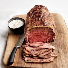 stupid simple roast beef with horseradish