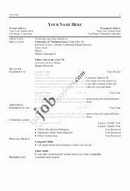 Hotel Housekeeping Resume Resume Names Resume For Your Job Application
