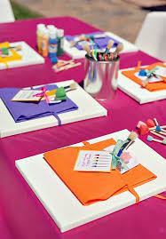 themed arts and crafts 12 birthday party craft activities for kids canvases birthdays