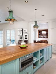 kitchen island lighting rustic vintage ageded lighting kitchen