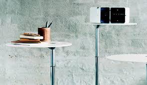 adjustable height side table fritz hansen little friend side table height adjustable dopo domani