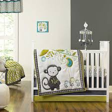 Jungle Themed Nursery Bedding Sets by Amazon Com Baby Safari Monkey 4 Piece Crib Bedding Set Baby