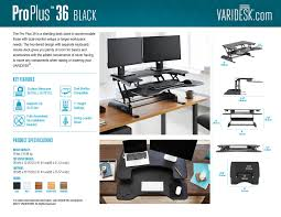 standing desk pro plus series varidesk