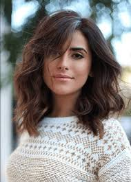 lob hair with side fringe 6 incredible long bobs with side bangs to look super cute