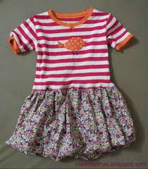 reader tutorial turn a t shirt into a bubble dress and sew we craft