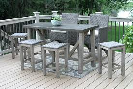 outdoor bar height table and chairs set outdoor bar height chairs furniture sets and table adirondack