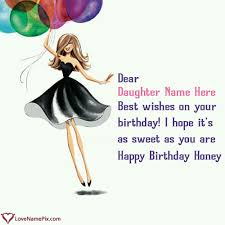 birthday wishes for from name generator