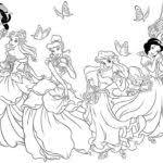disney princess coloring pages girls gekimoe u2022 60901