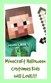 Craft Halloween Costumes Minecraft Halloween Costumes Kids Love Wear