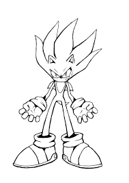 sonic colouring pages printable sonic coloring