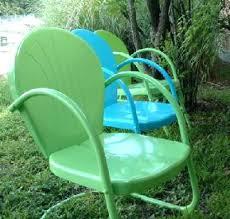 Retro Patio Furniture Sets Retro Patio Chair Cushions Retro Outdoor Glider Chair Mid Century