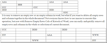 Delete All Rows From Table Quickly Remove Or Delete All Empty Rows And Columns From All