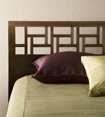 Asian Inspired Platform Beds - queen bed support slats open travel