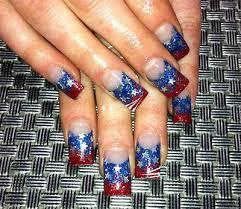 nailspadesigns com acrylic nail art 2014 4th of july nails 1 4