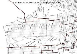 San Jose District Map by New San Francisco Supervisorial District Map Sf Gsa