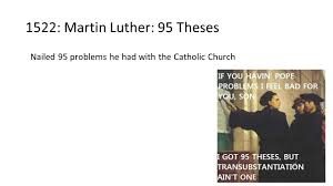 martin luther 95 thesis protestant reformation ppt video online download 1522 martin luther 95 theses