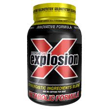 extreme cut explosion 120 caps fat burners goldnutrition