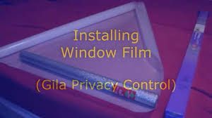 Gila Frosted Window Film How To Installing A Window Film Gila Privacy Control Youtube